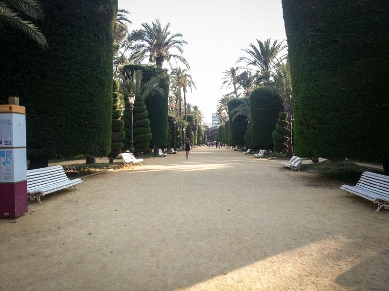 Cadice - Parque Genoves